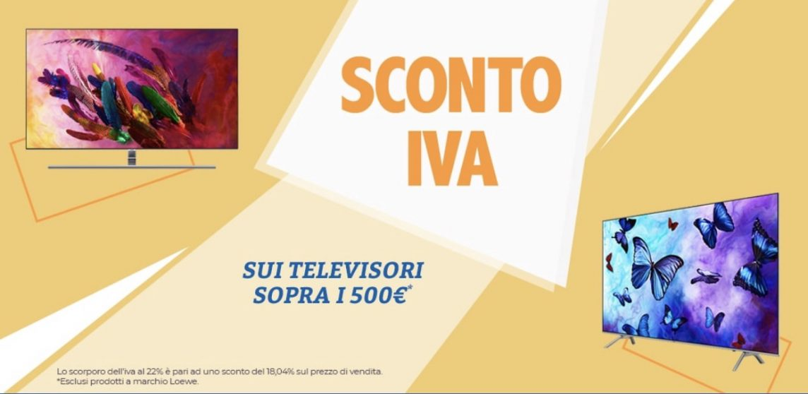 no IVA TV unieuro