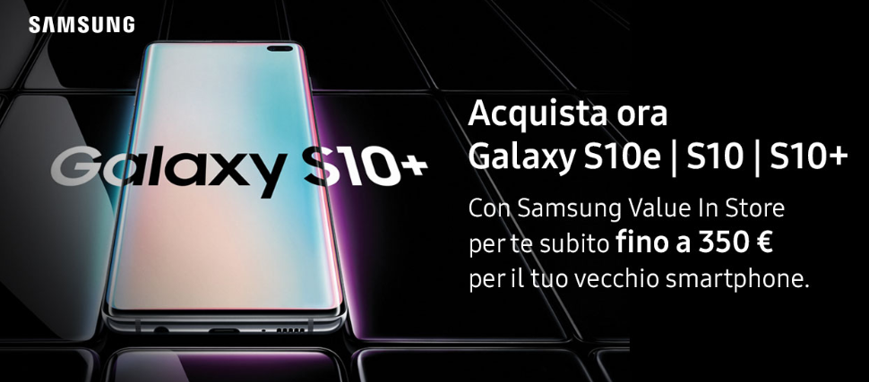 Galaxy S10 Unieuro