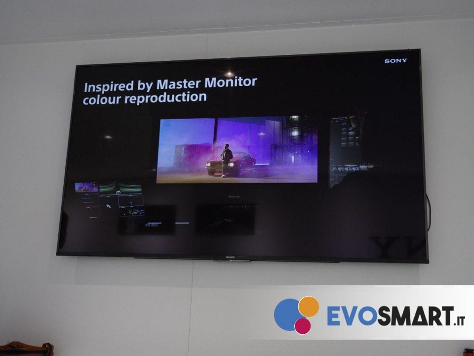 Sony promette una qualità di display pari a quella di un Master Monitor cinematografico | Evosmart.it