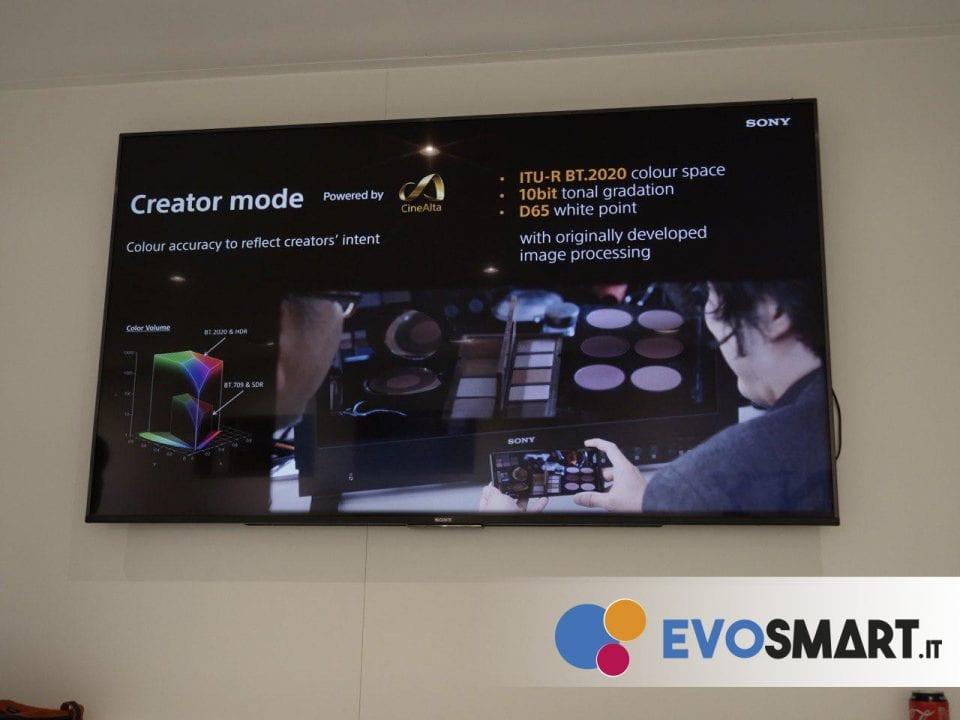 Creator Mode mette a disposizione una qualità di colori e gamma dinamica superiore | Evosmart.it