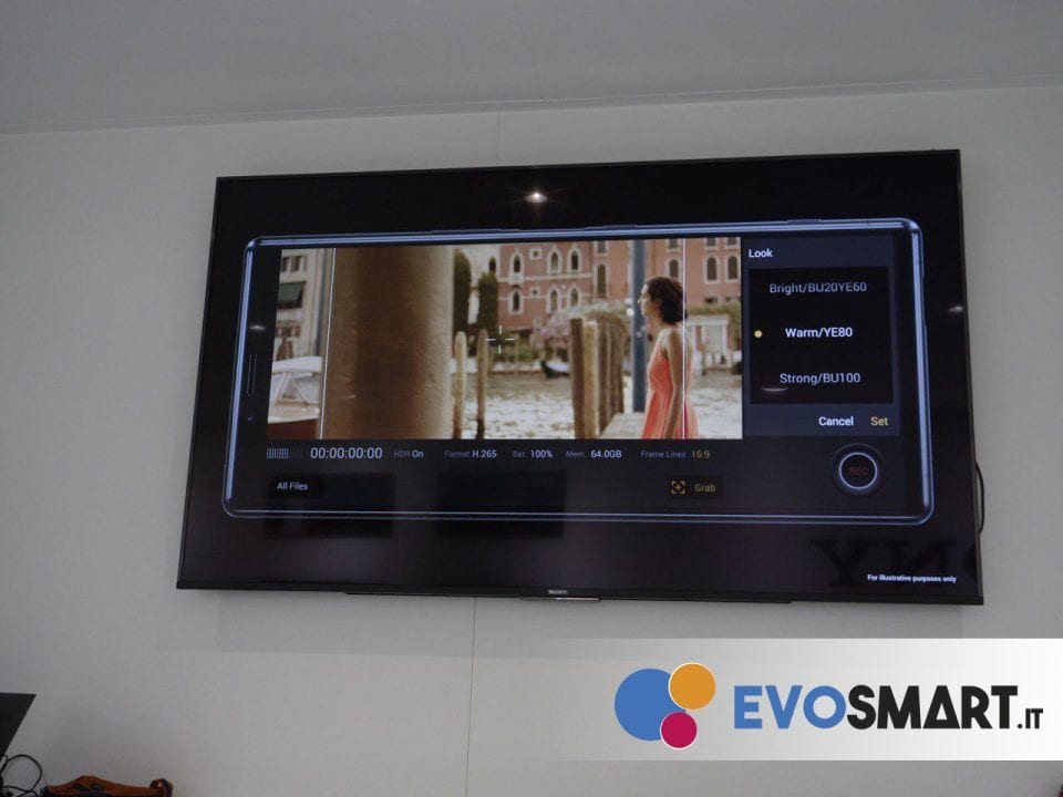 Ecco la modalità Cinema Pro, per i professionisti del film | Evosmart.it