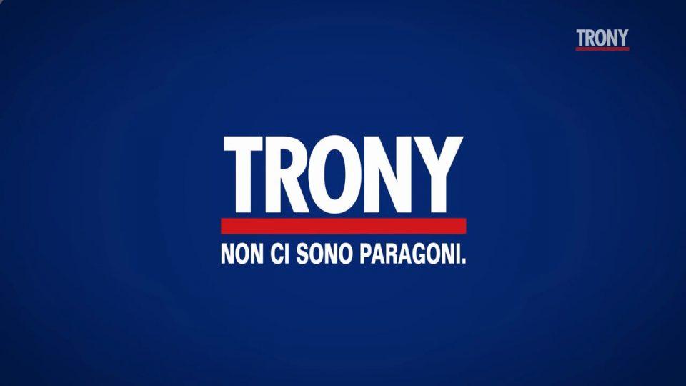 copertina logo trony