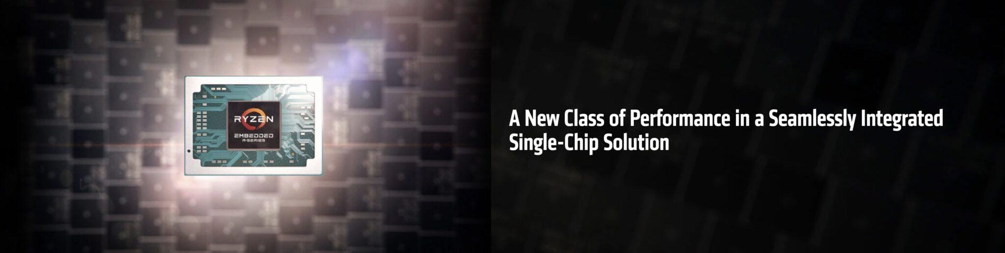 AMD presenta il SoC Ryzen Embedded R1000