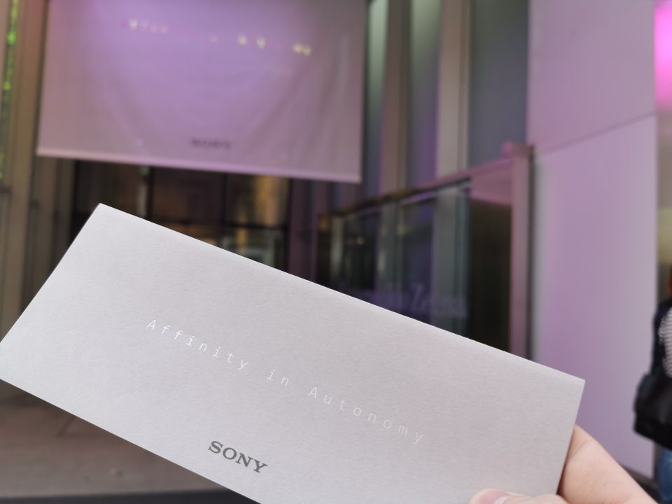 Milano Design Week: Sony presenta Affinity in Autonomy
