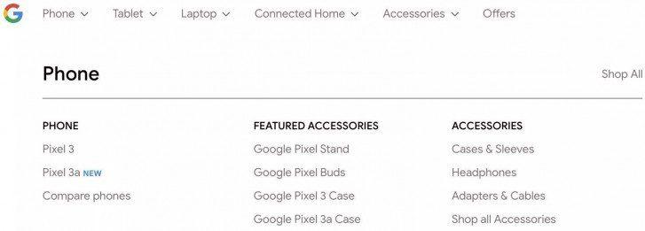 Pixel 3a conferma Google