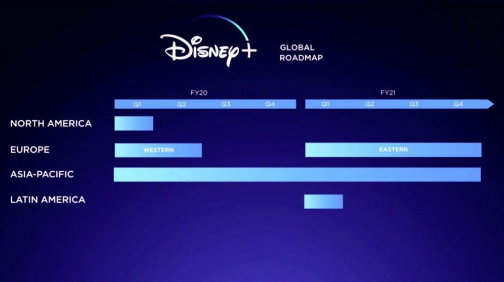 Disney+ debutterà in Italia nella prima metà del 2020