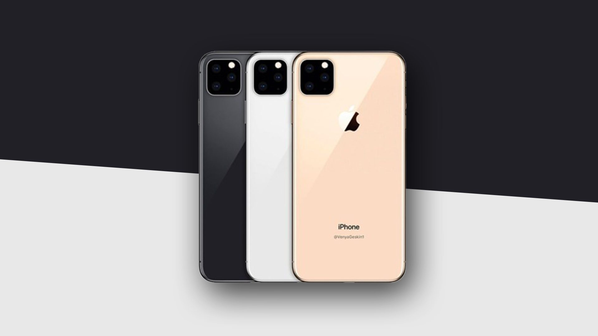 iPhone XI : device svelato da nuovi render