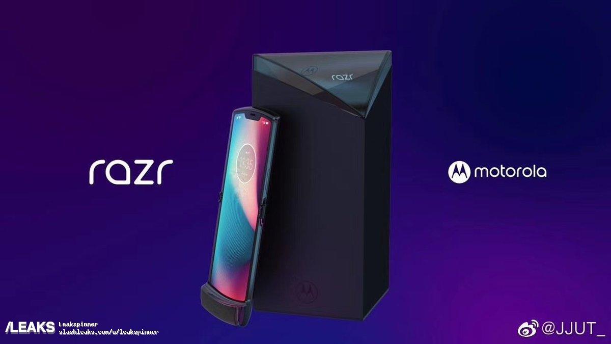 Moto RAZR: render e conferme per il Motorola pieghevole | Evosmart.it