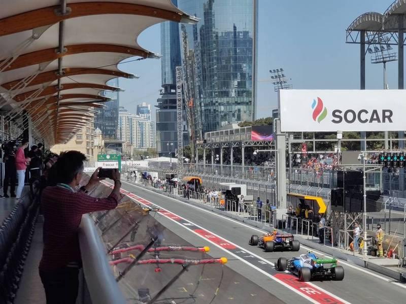 La pit lane del circuito | Evosmart.it