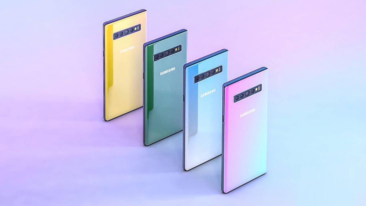 Samsung potrebbe presentare 4 varianti di Galaxy Note 10