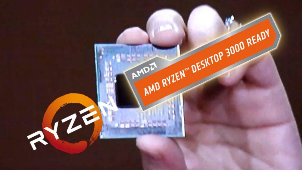 AMD presenta parte dei nuovi Ryzen 3000 al Computex di Taipei