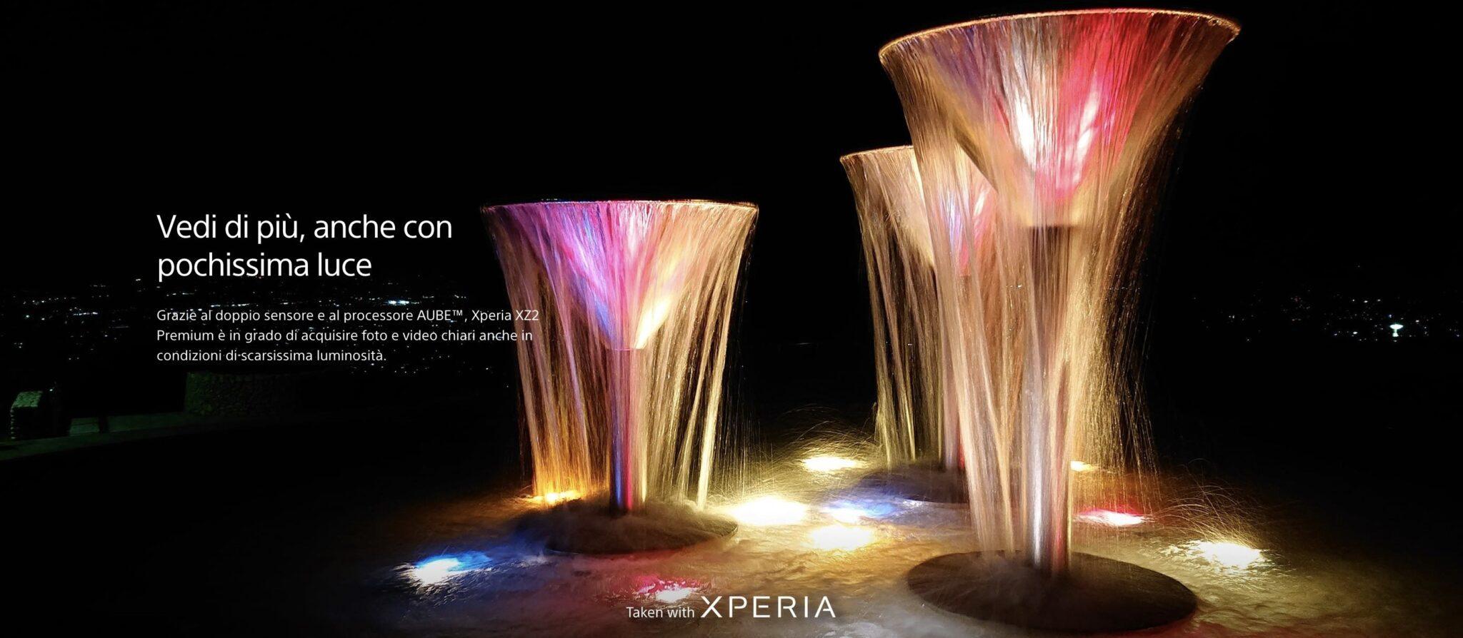 Xperia multi-camera - Da Xperia XZ2 Premium a Xperia 1