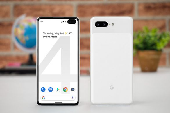 Display con foro anche su Google Pixel 4