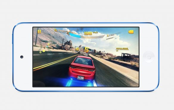 Nuovo iPod Touch in game mode I Evosmart.it