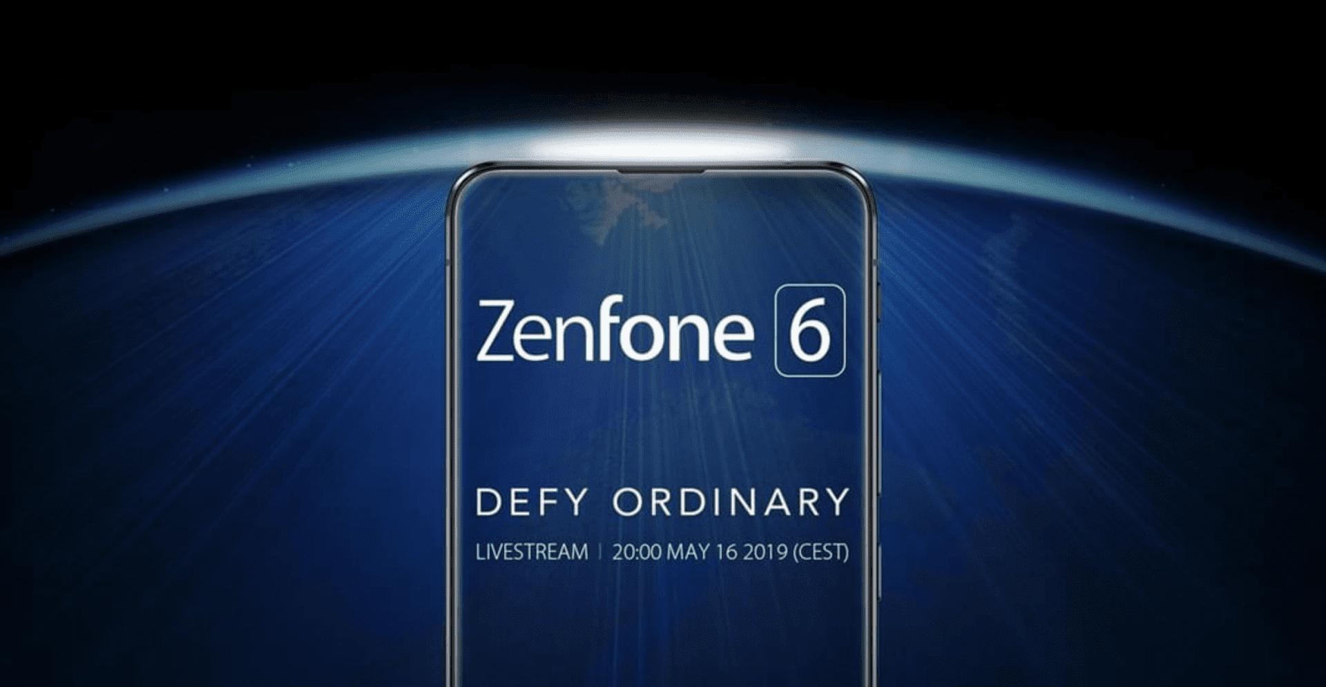 Asus Zenfone 6 svelato il giorno prima della presentazione
