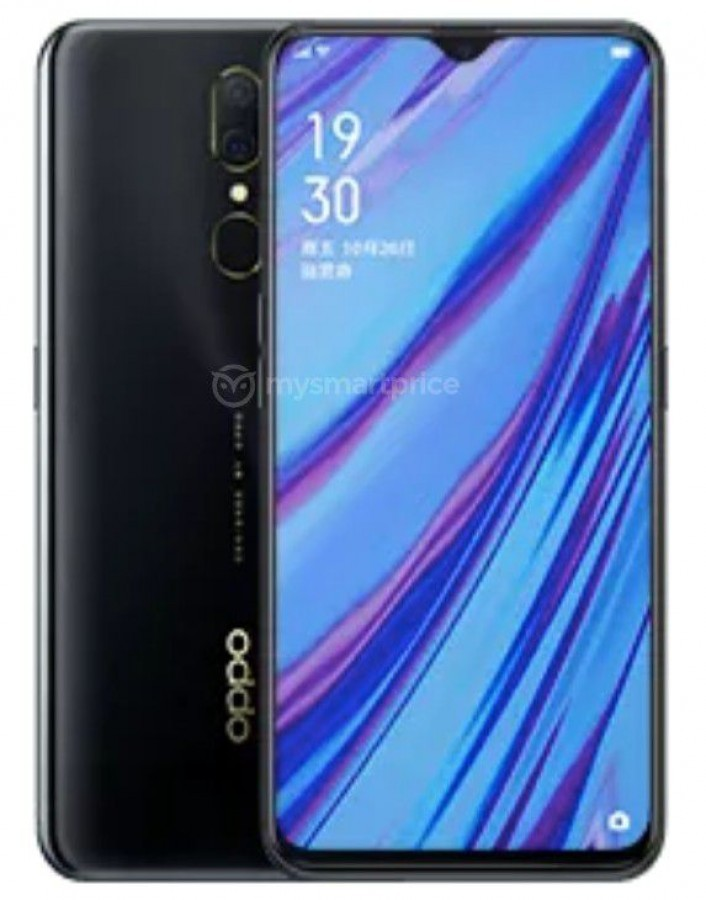 Oppo A9x in colorazione Meteorite Black