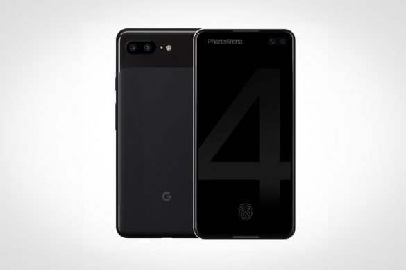 Google Pixel 4 concept