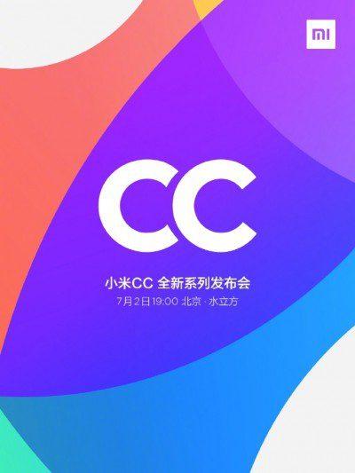 xaomi cc9 series