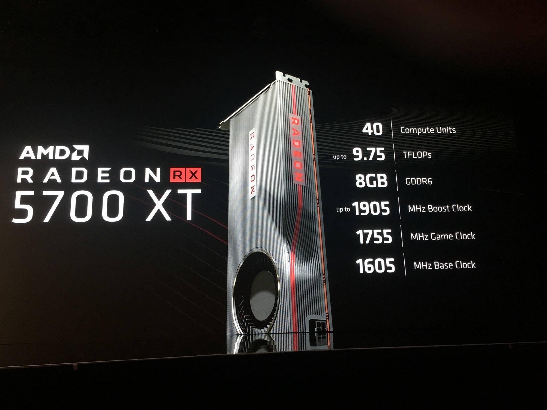 AMD presenta all'E3 2019 le nuove Radeon RX 5700 ed RX 5700 XT