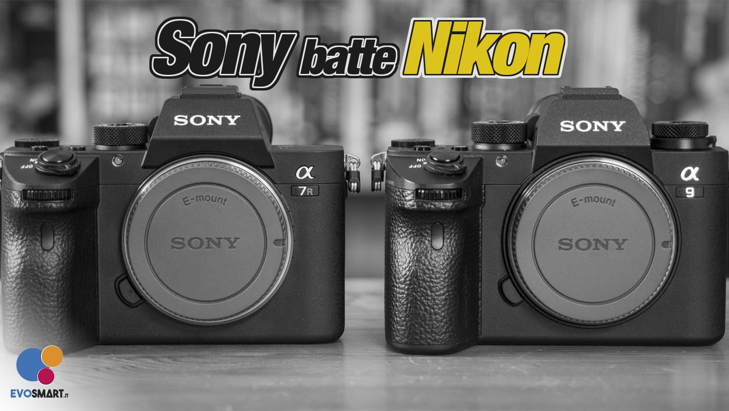 Sony supera Nikon come maggior produttore di fotocamere dopo Canon