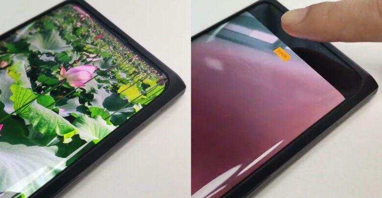 fotocamera integrata sotto il display