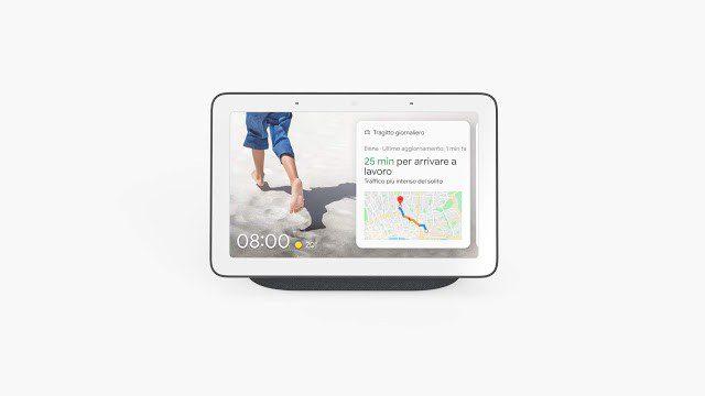 nest hub di google