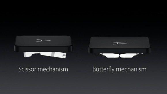 Apple fa dietro-front sulle tastiere. Fuori le farfalle, ritornano le forbici!