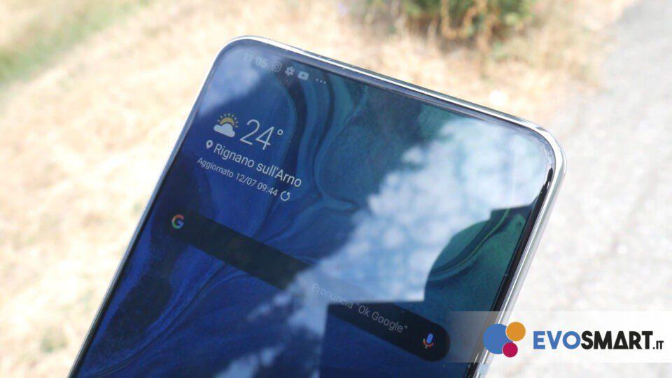 Il display di Galaxy A80 è ottimo | Evosmart.it