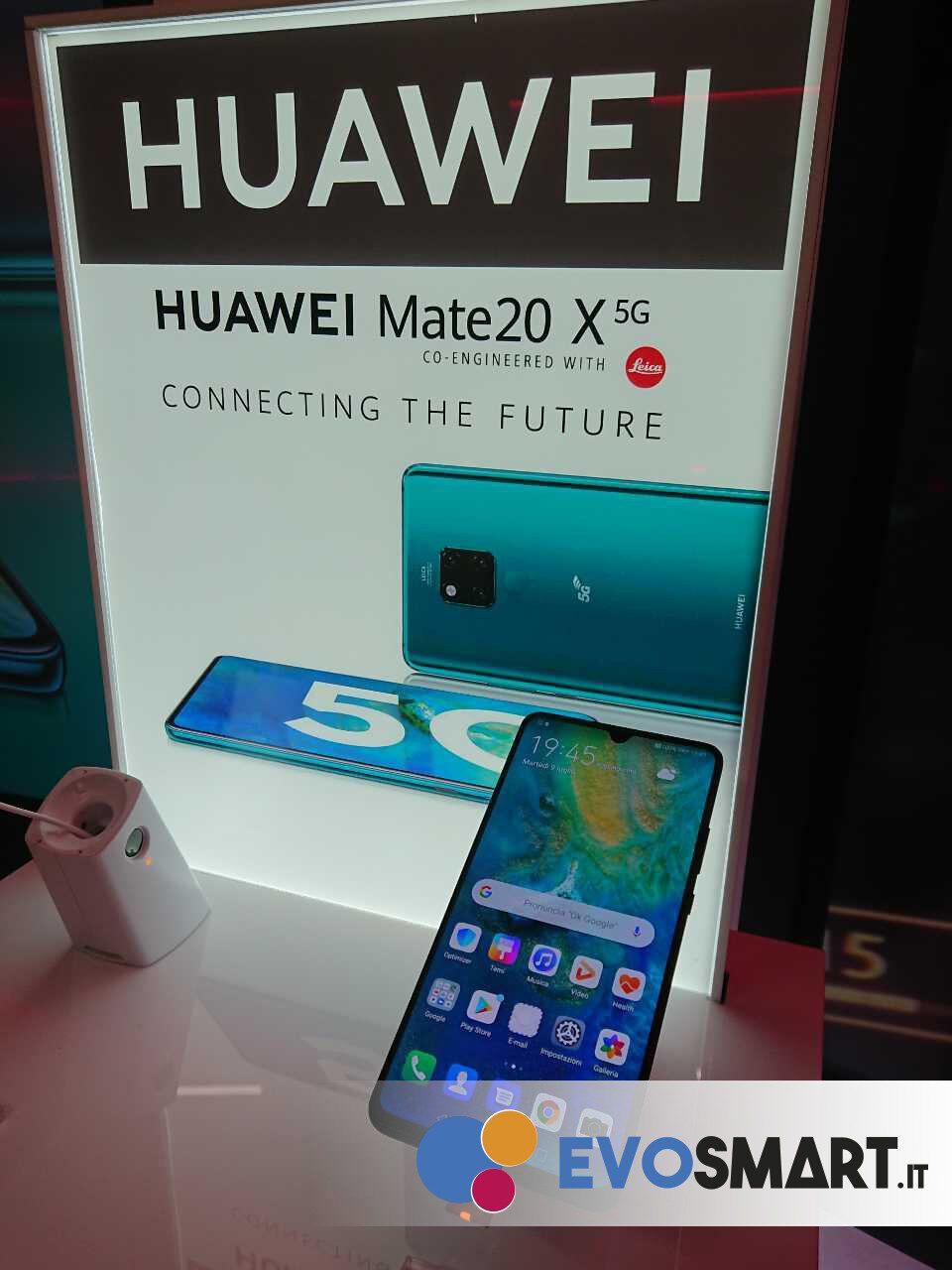 Huawei Mate 20 X 5G porta Huawei nel mondo del 5G, utilizzando hardware già consolidato | Evosmart.it