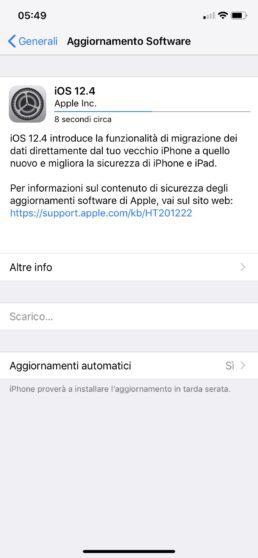 ios 12.4 update