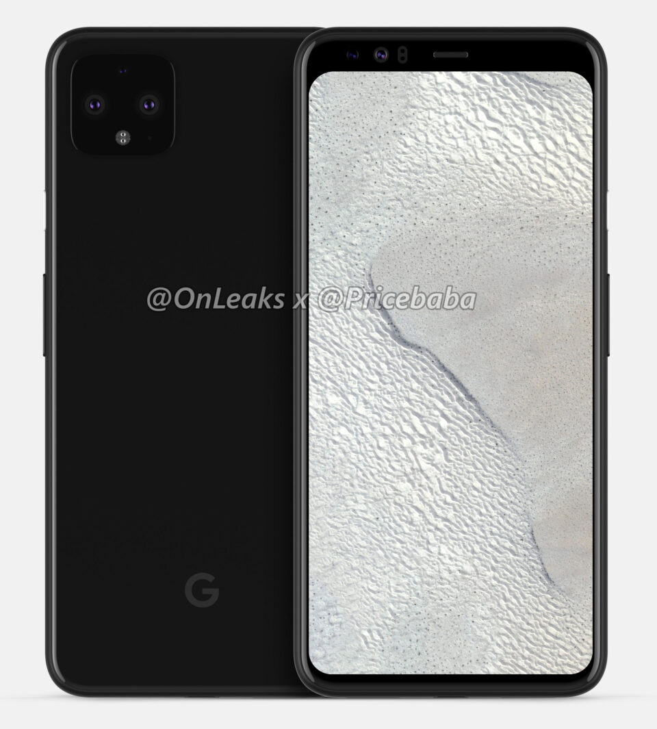 Pixel 4 nuovo render