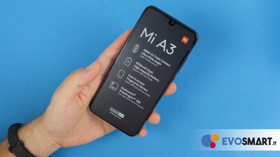 Xiaomi Mi A3 è sicuramente compatto   Evosmart.it
