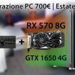 La migliore configurazione PC da 700 € | Estate 2019