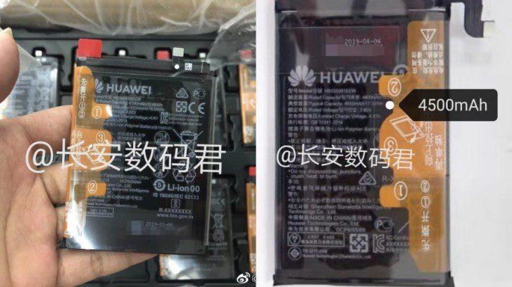 Huawei Mate 30 e Mate 30 Pro batterie