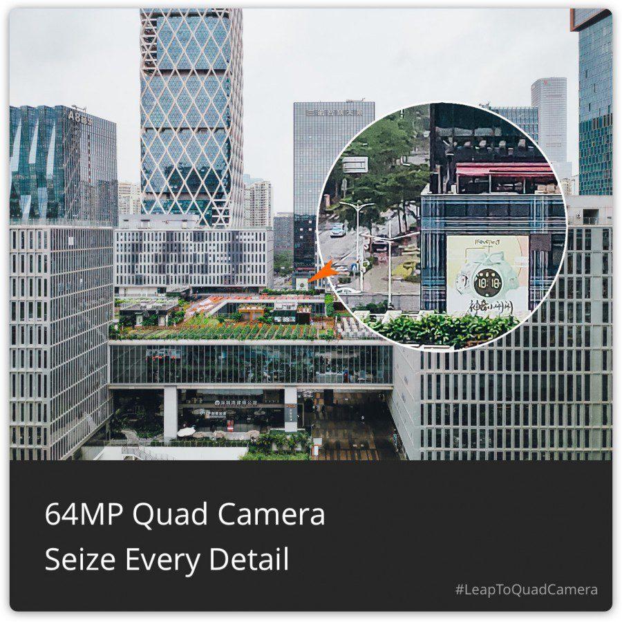 Alto livello di dettaglio con il sensore Samsung GW1 da 64 MP | Evosmart.it