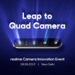 Realme Leap camera 64 MP teaser