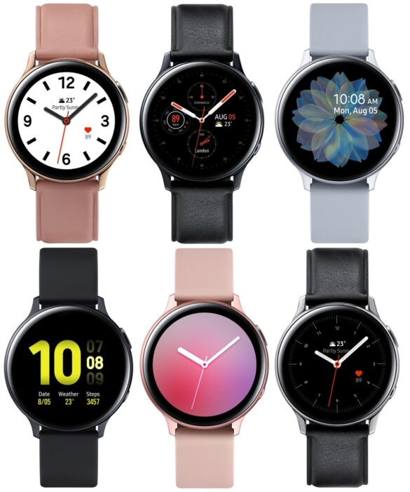 Galaxy Watch Active 2 nuove immagini