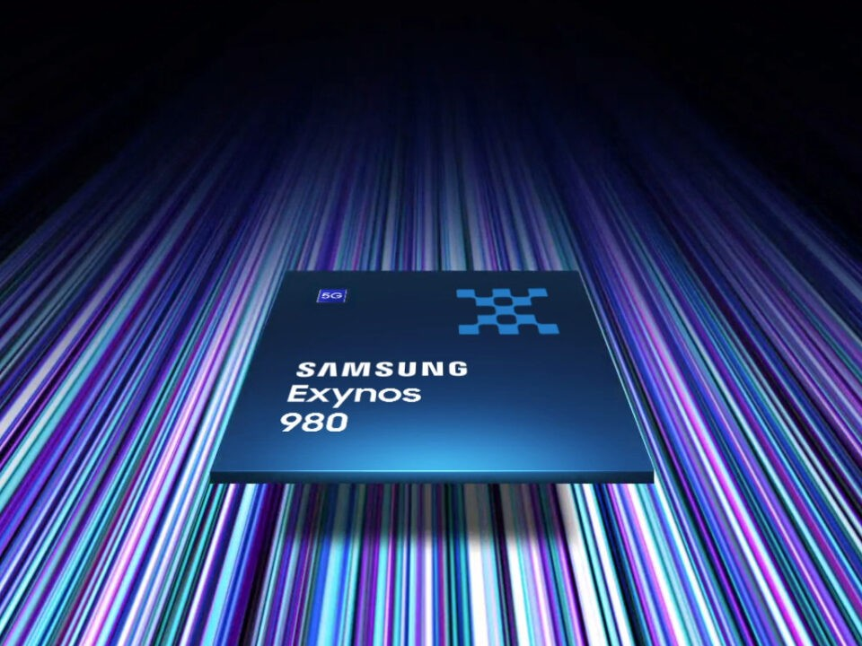 Samsung presenta l'Exynos 980 con modem 5G integrato