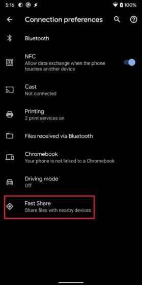 Google Fast Share Pixel 4 (1)