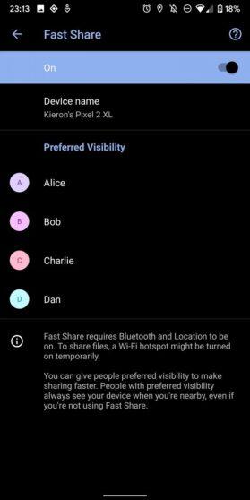 Google Fast Share Pixel 4 (2)