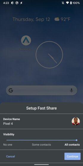 Google Fast Share Pixel 4 (3)