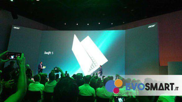 Ecco il nuovo Acer Swift 5 | Evosmart.it