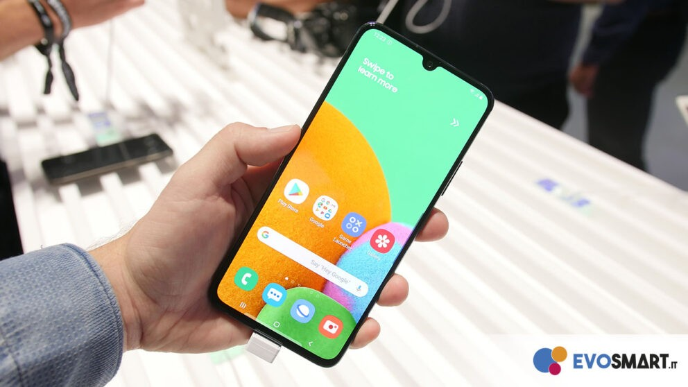galaxy a90 front