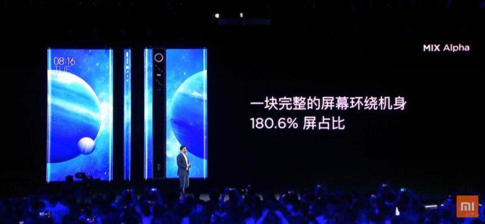Xiaomi Mi Mix Alpha ufficiale!