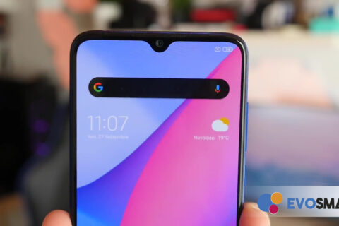 Il notch a goccia domina la parte alta del display di Xiaomi Mi 9 Lite | Evosmart.it