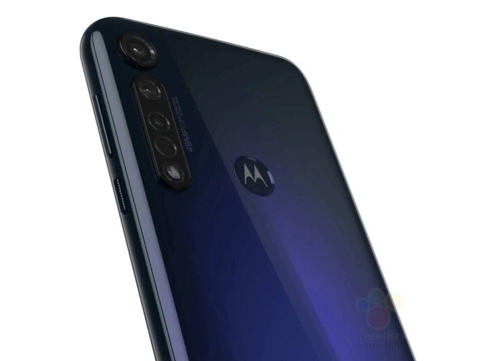 Motorola G8 Plus render