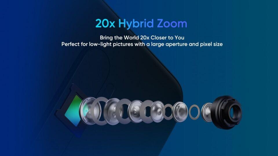 Zoom ibrido fino a 20x per Realme X2 Pro | Evosmart.it