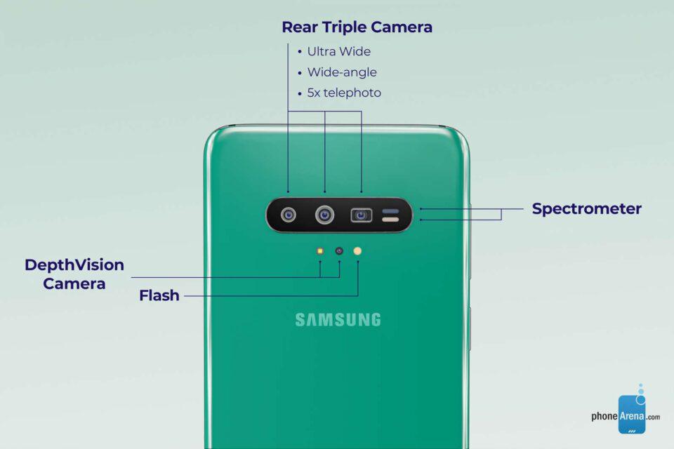Galaxy S11 : eccolo nei primi render