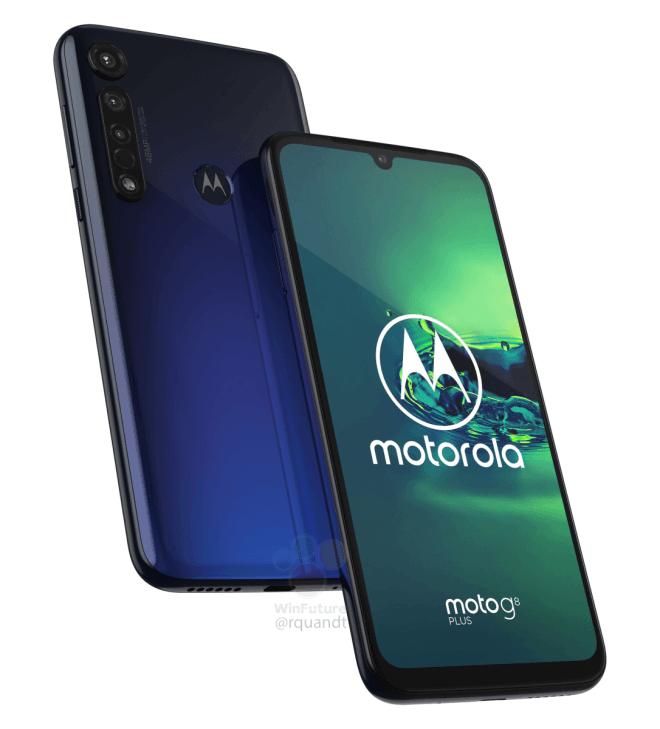 Motorola G8 Plus render | Evosmart.it