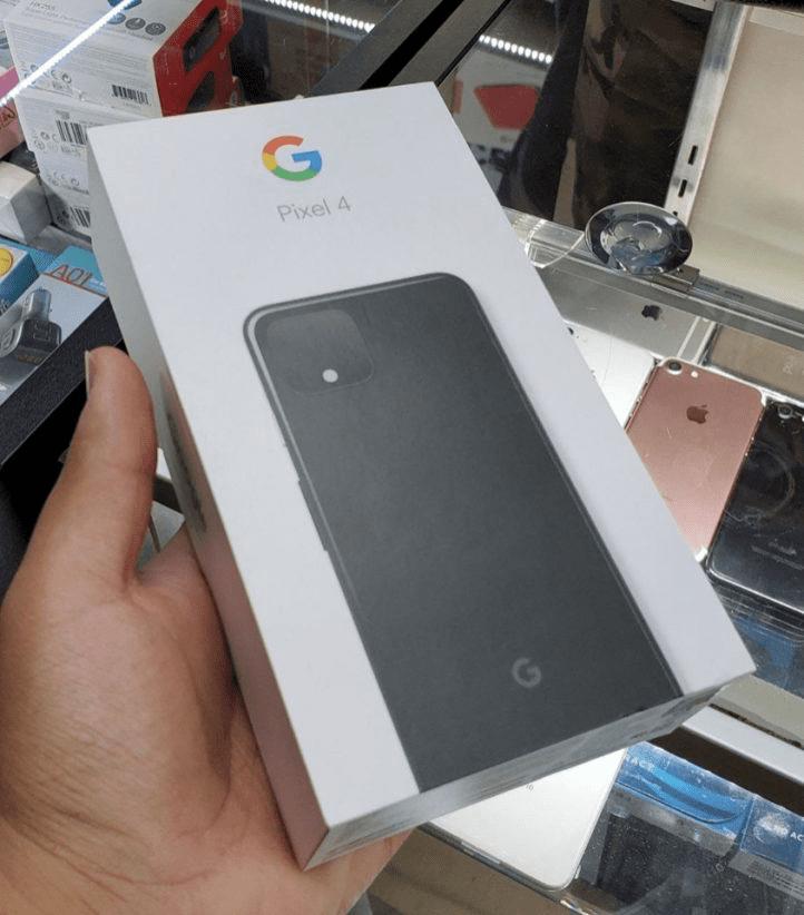 Pixel 4 : spunta la confezione di vendita